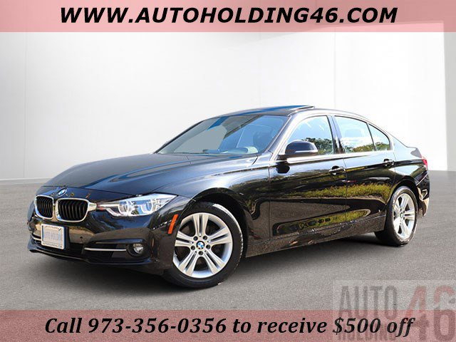 2017 BMW 3 Series 330i Turbocharged Rear Wheel Drive Power Steering ABS 4-Wheel Disc Brakes Br