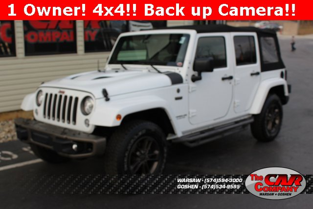 Used 2017 Jeep Wrangler Unlimited in Warsaw, IN