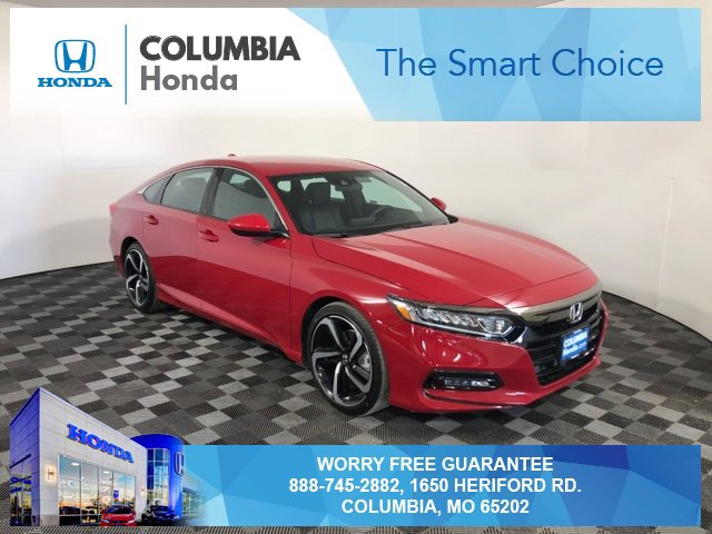 Used 2018 Honda Accord Sedan in Columbia, MO
