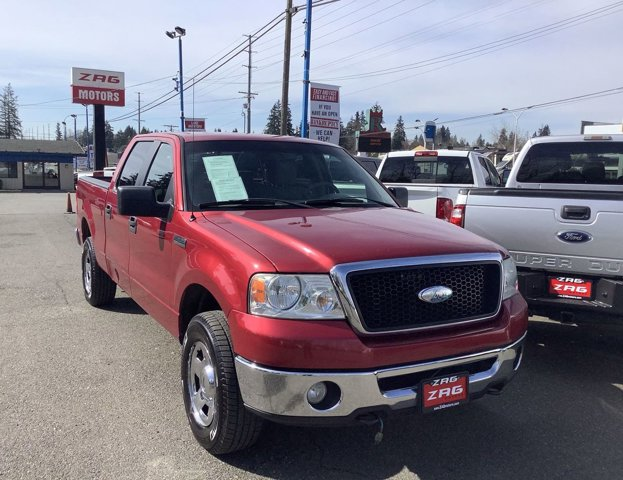 2008 Ford F-150 4WD SuperCrew 139 XLT