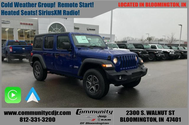New 2020 Jeep Wrangler Unlimited in Bloomington, IN
