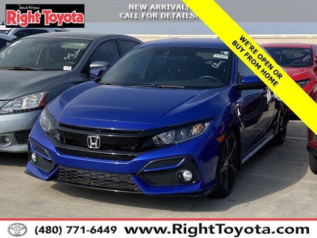 2020 Honda Civic Sport Sport CVT Intercooled Turbo Premium Unleaded I-4 1.5 L/91 [1]