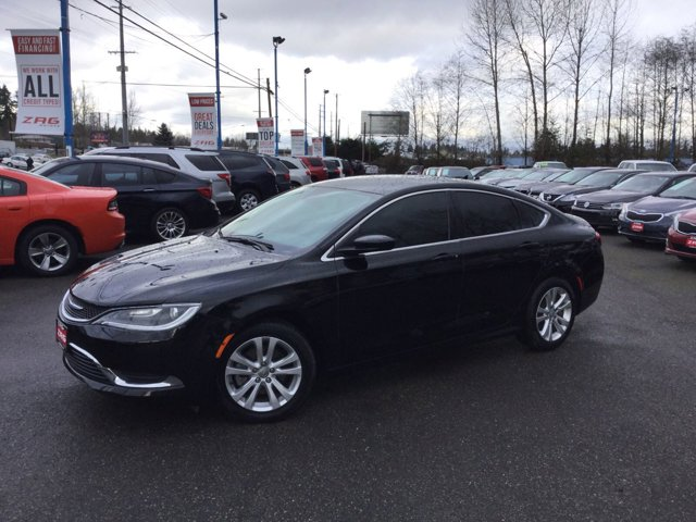 Used 2016 Chrysler 200 4dr Sdn Limited Platinum FWD