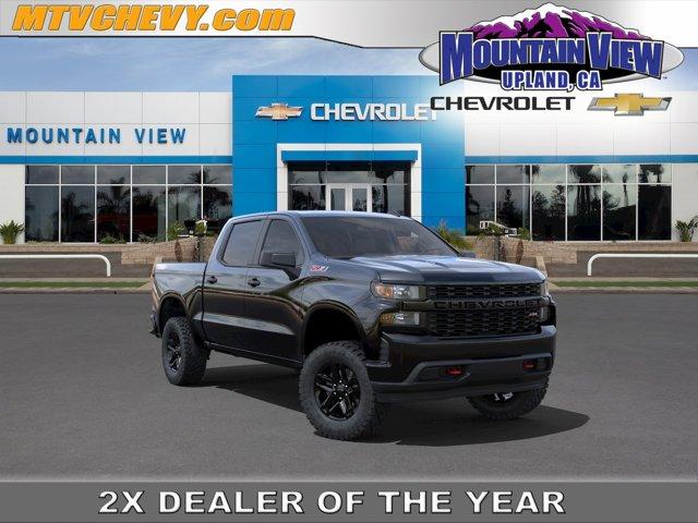 """2021 Chevrolet Silverado 1500 Custom Trail Boss 4WD Crew Cab 147"""" Custom Trail Boss Gas V8 5.3L/325 [11]"""
