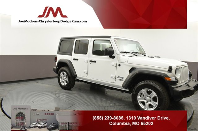New 2019 Jeep Wrangler Unlimited in Columbia, MO
