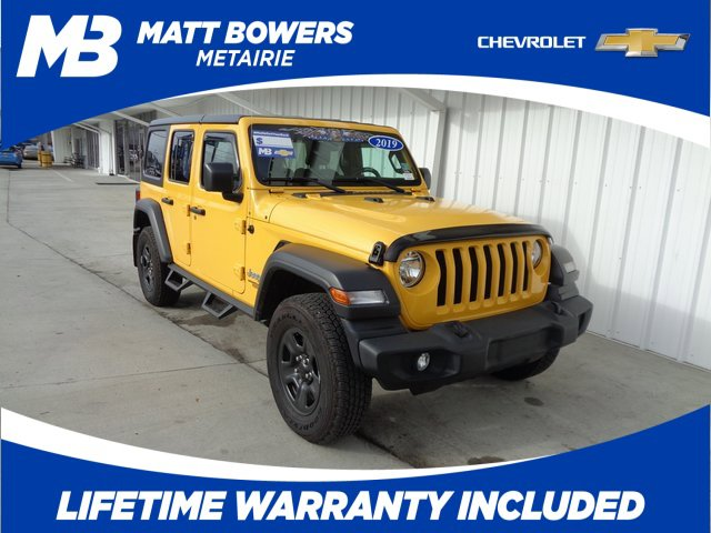 Used 2019 Jeep Wrangler Unlimited in New Orleans, and Slidell, LA