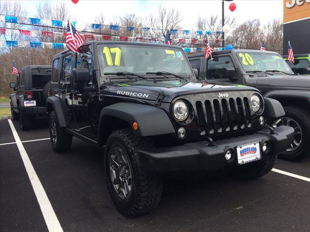 Used 2017 Jeep Wrangler Unlimited in Little Falls, NJ