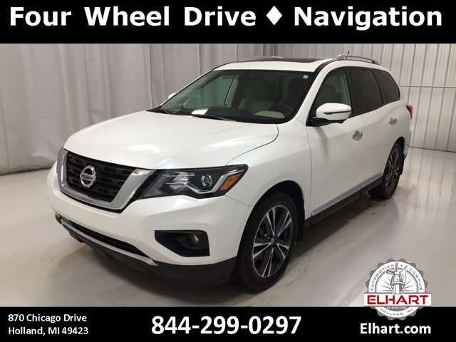 Used 2017 Nissan Pathfinder in Holland, MI