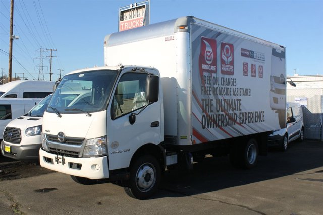 Used 2017 Hino 195 CAB AND CHASSIS