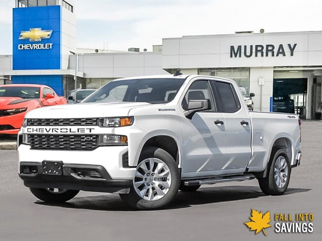 2021 Chevrolet Silverado 1500 Custom 4WD Double Cab 147″ Custom Gas V6 4.3L/262 [17]