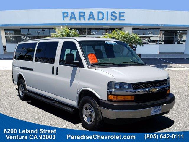 2019 Chevrolet Express Passenger LT RWD 3500 155″ LT Gas/Ethanol V8 6.0L/ [0]