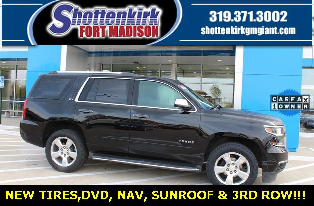 Used 2015 Chevrolet Tahoe in Fort Madison, IA