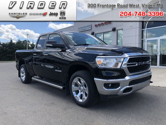2019 Ram 1500 Big Horn Big Horn 4x4 Quad Cab 6'4″ Box Regular Unleaded V-8 5.7 L/345 [6]