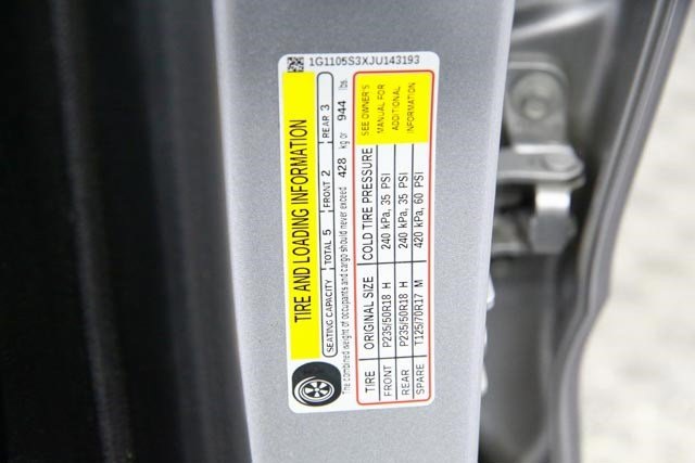 2018 Chevrolet Impala for sale 123351 29