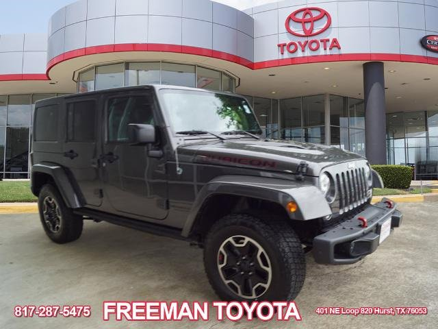 Used 2017 Jeep Wrangler Unlimited in Hurst, TX