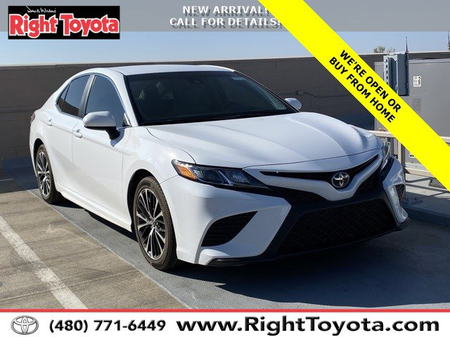 2018 Toyota Camry SE SE Auto Regular Unleaded I-4 2.5 L/152 [24]