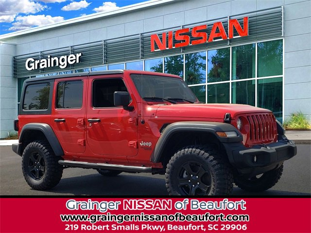 Used 2019 Jeep Wrangler in Beaufort, SC