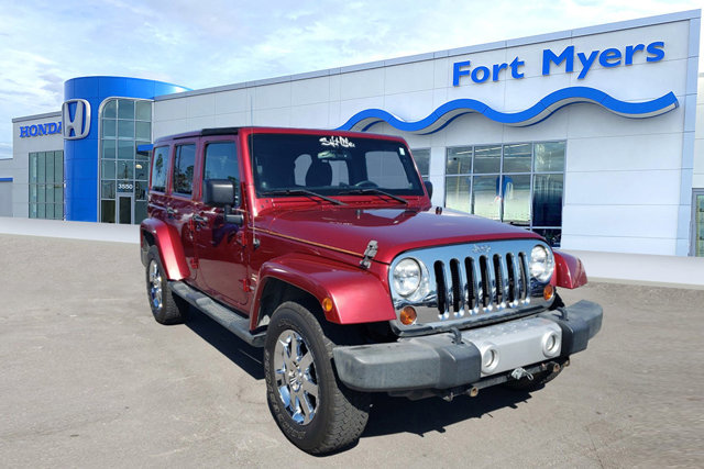 Used 2013 Jeep Wrangler Unlimited in Fort Myers, FL