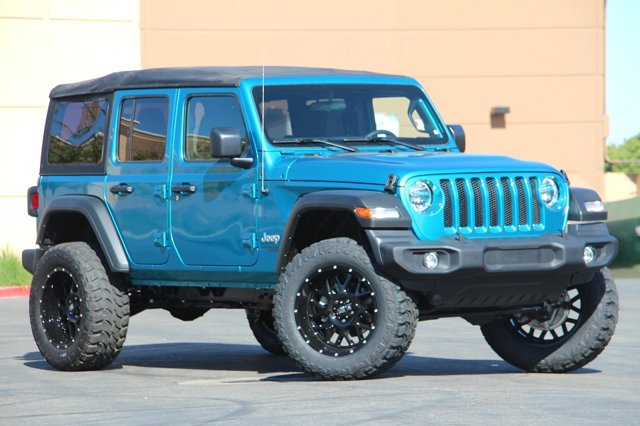 2019 Jeep Wrangler Unlimited Sport S 34