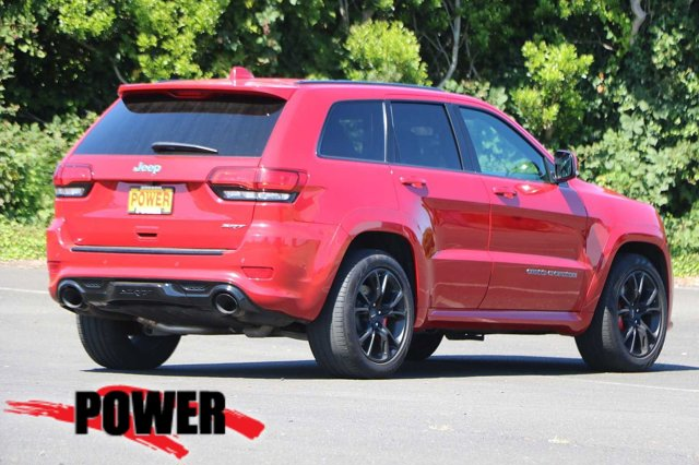 Used 2017 Jeep Grand Cherokee SRT 4x4