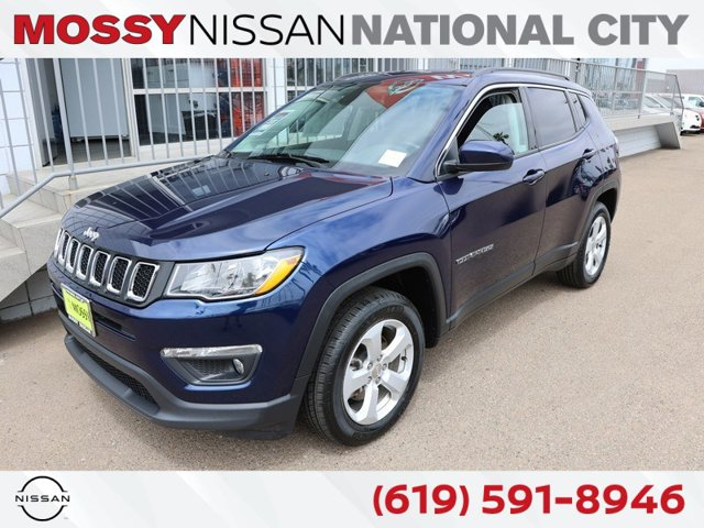 2020 Jeep Compass Latitude Latitude 4x4 Regular Unleaded I-4 2.4 L/144 [1]