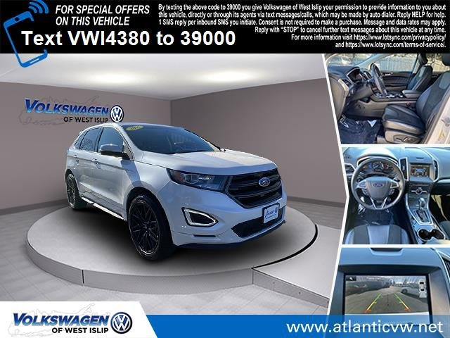 2015 Ford Edge Sport Turbocharged All Wheel Drive Power Steering ABS 4-Wheel Disc Brakes Brake