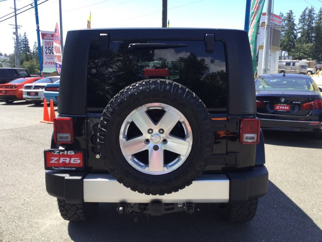 Used 2008 Jeep Wrangler 4WD 4dr Unlimited Sahara