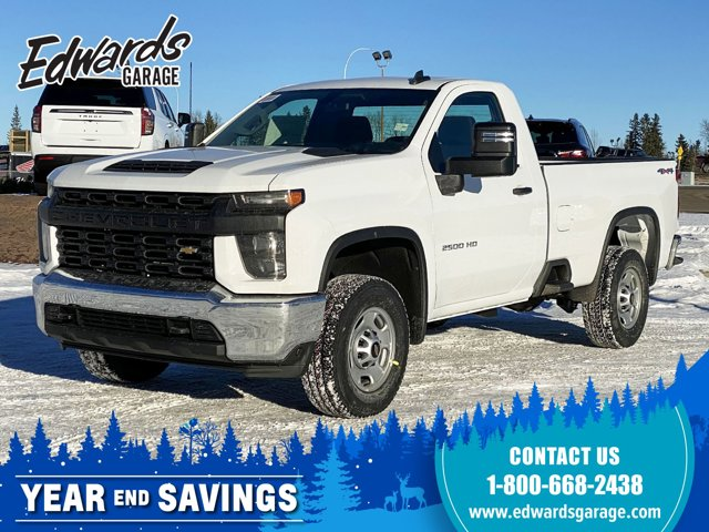 2021 Chevrolet Silverado 2500HD Work Truck Apple Carplay 4WD Reg Cab 142″ Work Truck Gas V8 6.6L/400 [1]