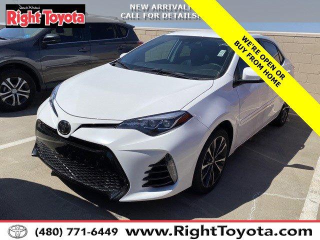 2018 Toyota Corolla SE SE CVT Regular Unleaded I-4 1.8 L/110 [10]