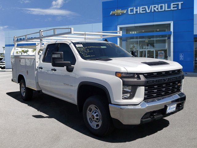 2020 Chevrolet Silverado 2500HD Work Truck 2WD Double Cab 162″ Work Truck Gas V8 6.6L/400 [18]