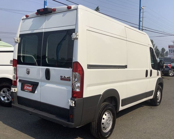 Used 2014 Ram ProMaster Cargo Van 1500 High Roof 136 WB