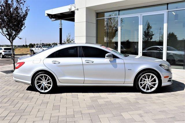 2012 Mercedes-Benz CLS-Class CLS 550 4dr Sdn CLS 550 RWD Gas V8 4.6L/285 [0]