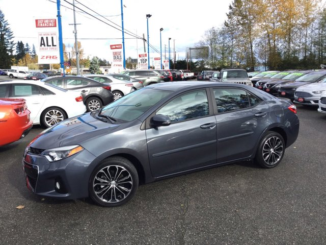 Used 2015 Toyota Corolla 4dr Sdn CVT S