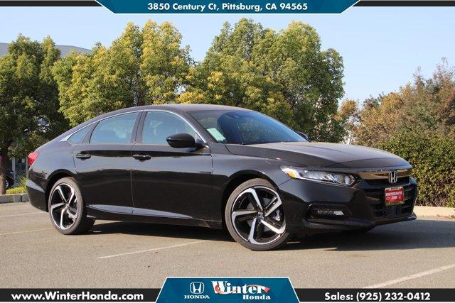 2020 Honda Accord Sedan Sport Sport 1.5T CVT Intercooled Turbo Regular Unleaded I-4 1.5 L/91 [17]