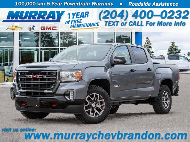 2021 GMC Canyon 4WD AT4 w/Leather 4WD Crew Cab 128″ AT4 w/Leather Gas V6 3.6L/222 [3]