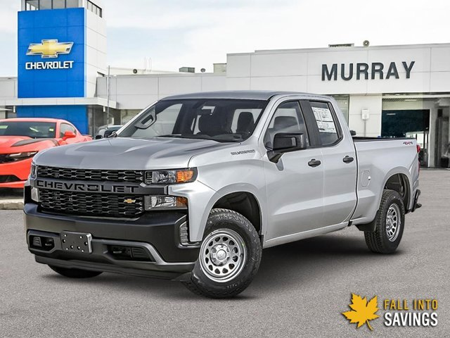 2021 Chevrolet Silverado 1500 Work Truck 4WD Double Cab 147″ Work Truck Gas V8 5.3L/325 [0]