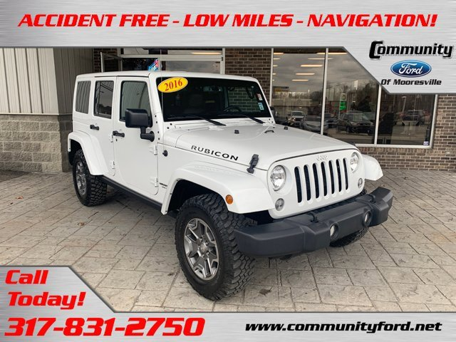 Used 2016 Jeep Wrangler Unlimited in Bloomington, IN