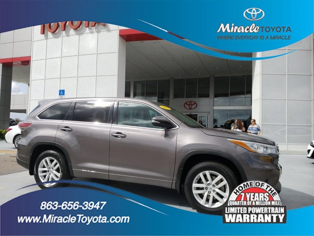 Used 2015 Toyota Highlander in Haines City, FL