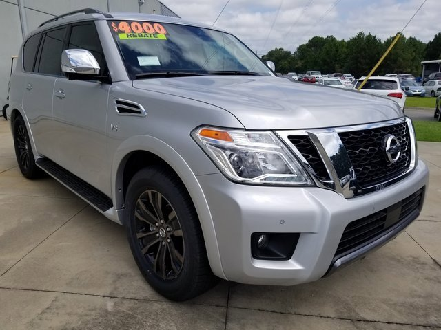 New 2019 Nissan Armada in Tifton, GA