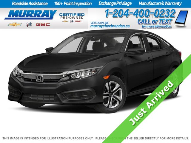2017 Honda Civic Sedan LX 4dr CVT LX Regular Unleaded I-4 2.0 L/122 [16]