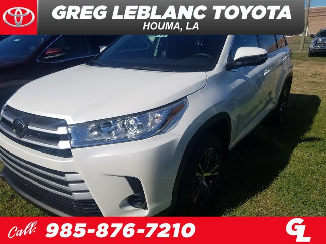 New 2019 Toyota Highlander in Houma, LA