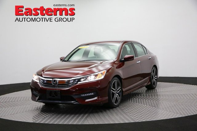 2017 Honda Accord Sedan Sport 4dr Car