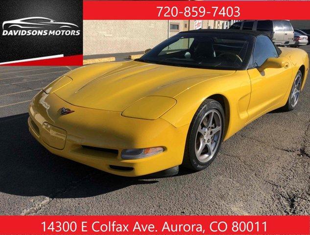 The 2001 Chevrolet Corvette photos