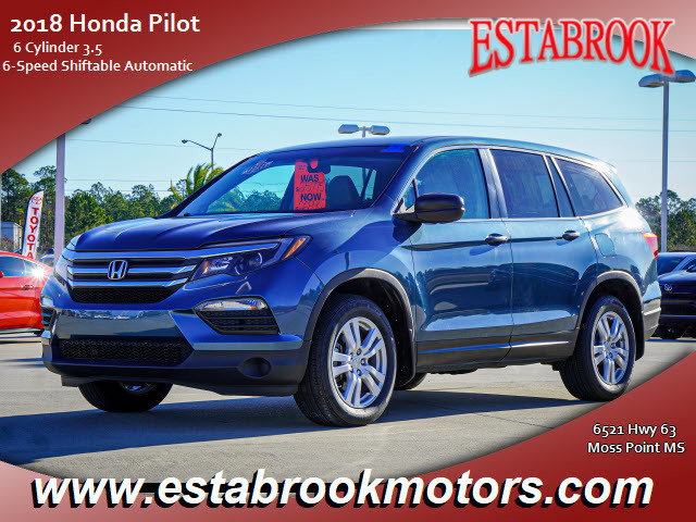 Used 2018 Honda Pilot in Moss Point, MS