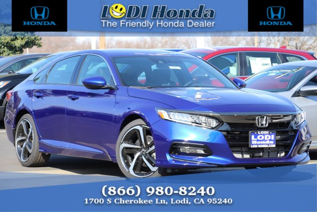 New 2020 Honda Accord Sedan in Lodi, CA