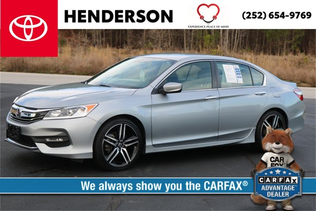 Used 2016 Honda Accord Sedan in Henderson, NC