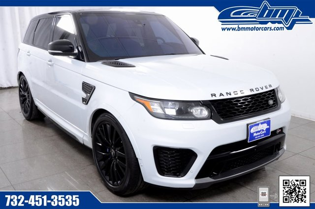 2016 Land Rover Range Rover Sport V8 SVR Supercharged Four Wheel Drive LockingLimited Slip Diffe