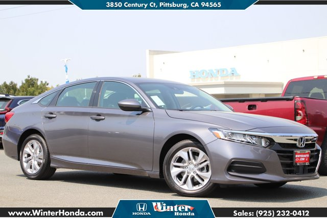 2020 Honda Accord Sedan LX LX 1.5T CVT Intercooled Turbo Regular Unleaded I-4 1.5 L/91 [5]
