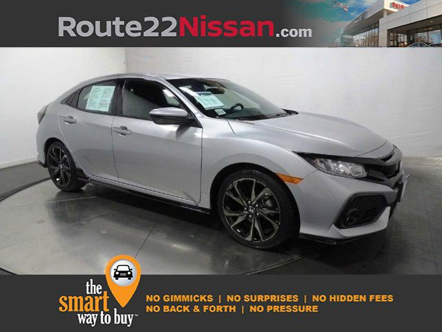 2019 Honda Civic Hatchback Sport Sport CVT Intercooled Turbo Premium Unleaded I-4 1.5 L/91 [3]