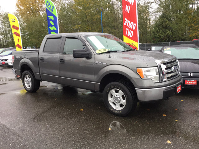 Used 2010 Ford F-150 4WD SuperCrew 145 XLT